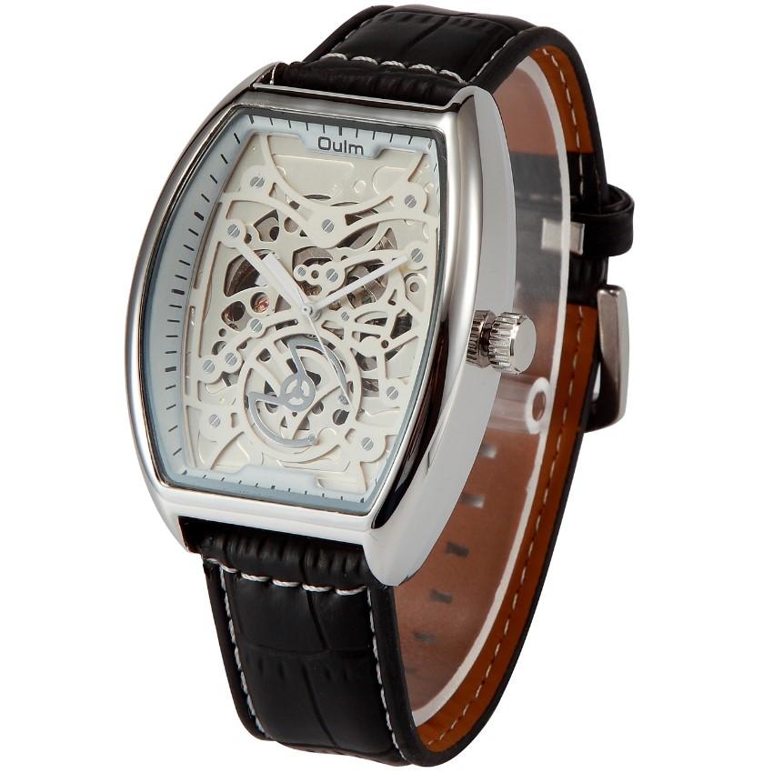 Hot Brand Oulm 3310 Mens Mechanical Skeleton Watches Montre Homme de Marque Relojes Lujo Marcas Men Relogio Masculino Original<br><br>Aliexpress