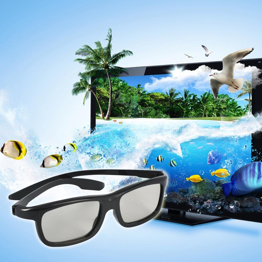 4 pieces/lot Lovely Family Adult & Kid Passive Polarized TV 3D Glasses Kit for 2015 LG 3D TVs and RealD Cinema(China (Mainland))