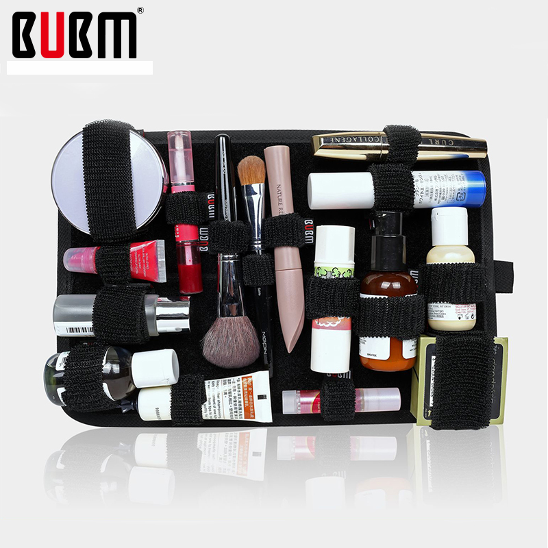 BUBM elastic storage plate board organizer case data cable power pack charger digital accessories bag cosmetics - ROSENRAZOR Store store