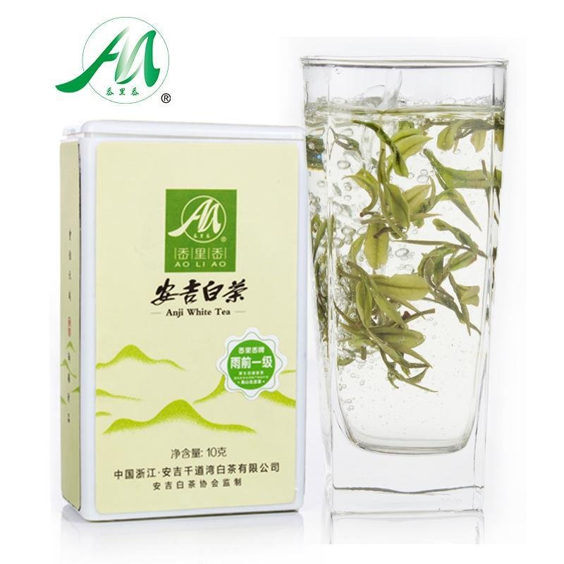chinese anji organic white tea piko top silver needle bebidas aroma anti cancer natural health spring