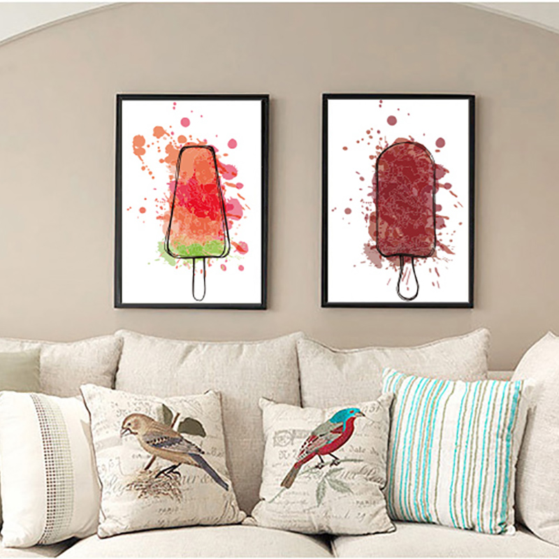 Fashion icicle Vintage Art Prints Poster Hippie Wall Picture Canvas Painting No Framed Office Home Decor(China (Mainland))