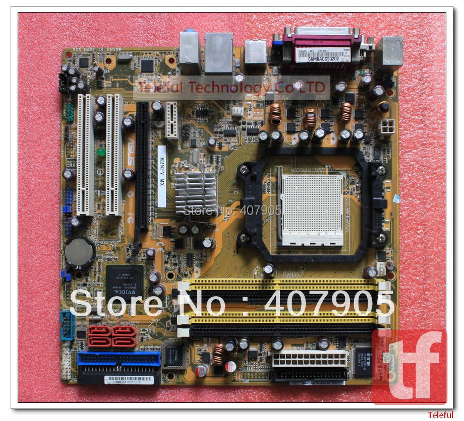 Socket AM2 Motherboard for Asus M2NPV-MX Geforce6150 chipset DDR2 PC 100%Tested(China (Mainland))