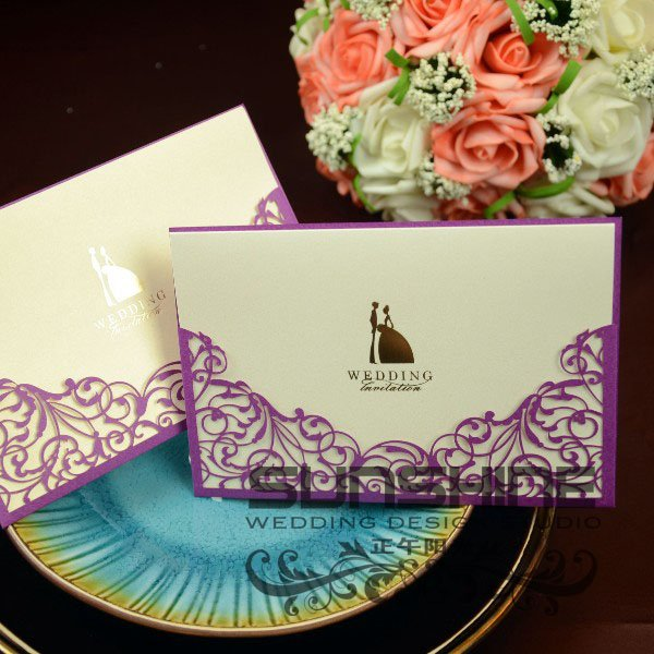 , wedding cards, customised printing,CW1018, wedding favors and gifts ...