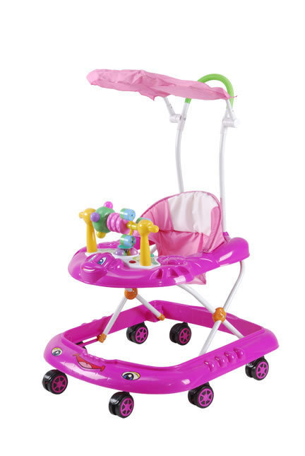 cheap plastic Baby walker big wheels rolling baby walker, carrier