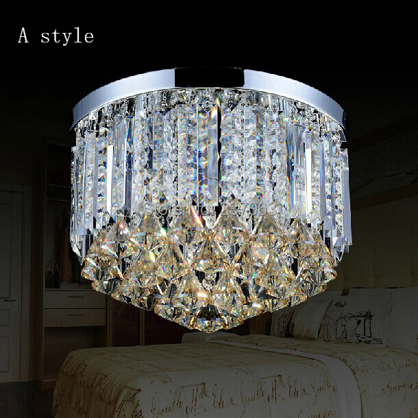 Free shipping Modern crystal ceiling lamp for living room lustre crystal lamparas de techo light fixtures abajur Guaranteed 100%<br><br>Aliexpress
