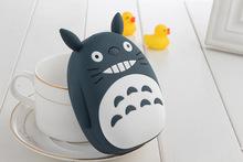 Universal Cute Totoro Power Bank 12000mAh Portable Phone External Battery Charger USB 18650 Powerbank For Samsung Nokia Xiaomi