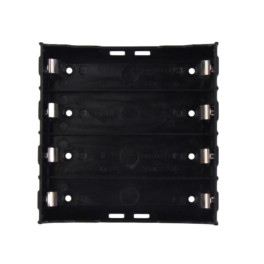 image for Battery Box Holder Batteries Case For 4x 18650 In Parallel 3.7V Pole B