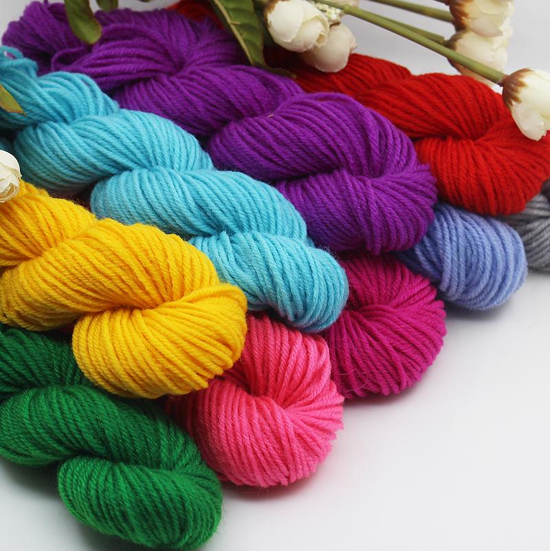 Guahoo одна дешевая шерсть для вязания надевают