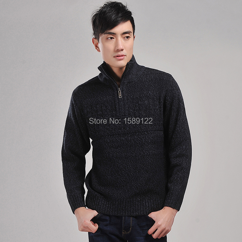 Sweater High Collar High Collar Men Sweater