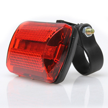 5 LED Rear Tail Red Bike Bicycle Back Light Red Mountain Bike Accessories LED Lamp for Bicycle Tail Lights