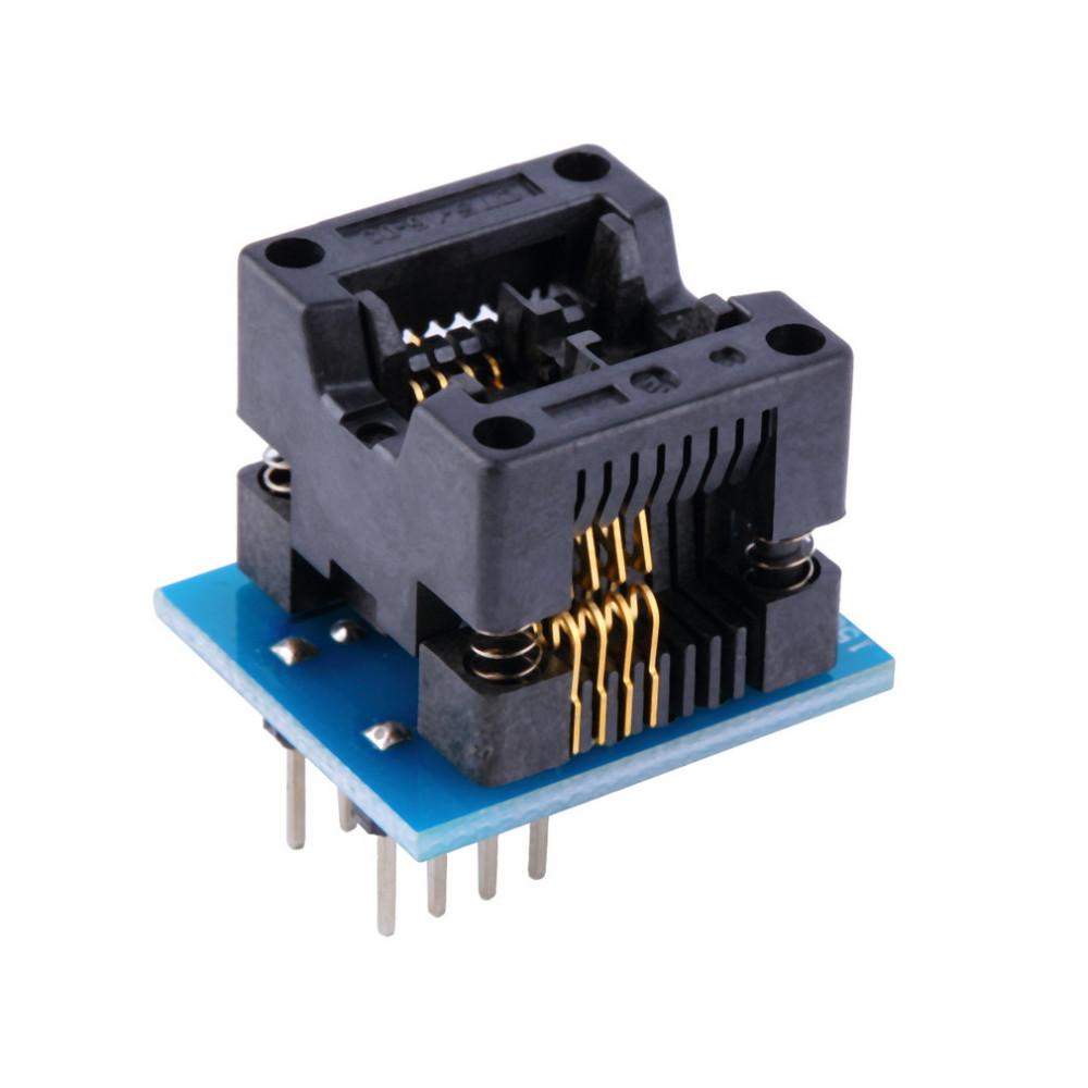 image for Wholesale Store SOP8 To DIP8 EZ Programmer Narrow Module Adapter Socke