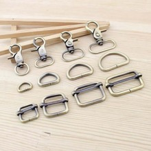 Bronze Luggage Straps buckles Snap hook/Dog,Bag hanger Lobster Clasp D ring Bag Parts & Accessories10 Set/Lot 12/20/25/30mm(China (Mainland))