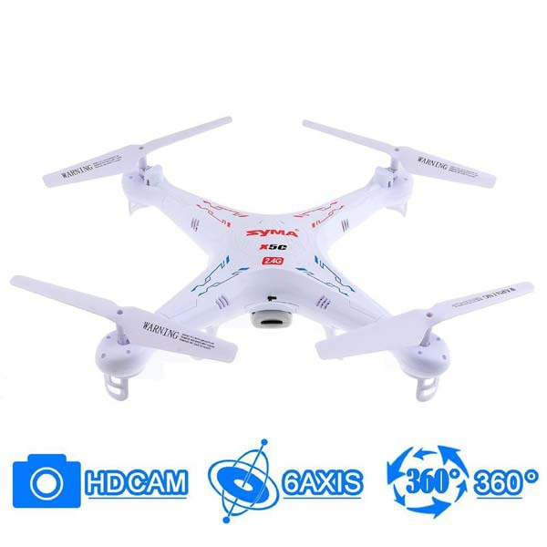Syma x5c-1 6 Axis GYRO RC Helicopter rc drone with 2MP HD Camera copter 4GB SD card Quadcopter intruder ufo rc helicopter china(China (Mainland))