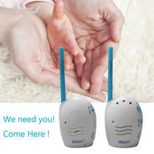 Niñera compacto 2.4 Ghz Wireless Audio Baby Monitor Radios enfermera niñera niñera electrónica Monitor de bebé Digital Babyfoon(China (Mainland))