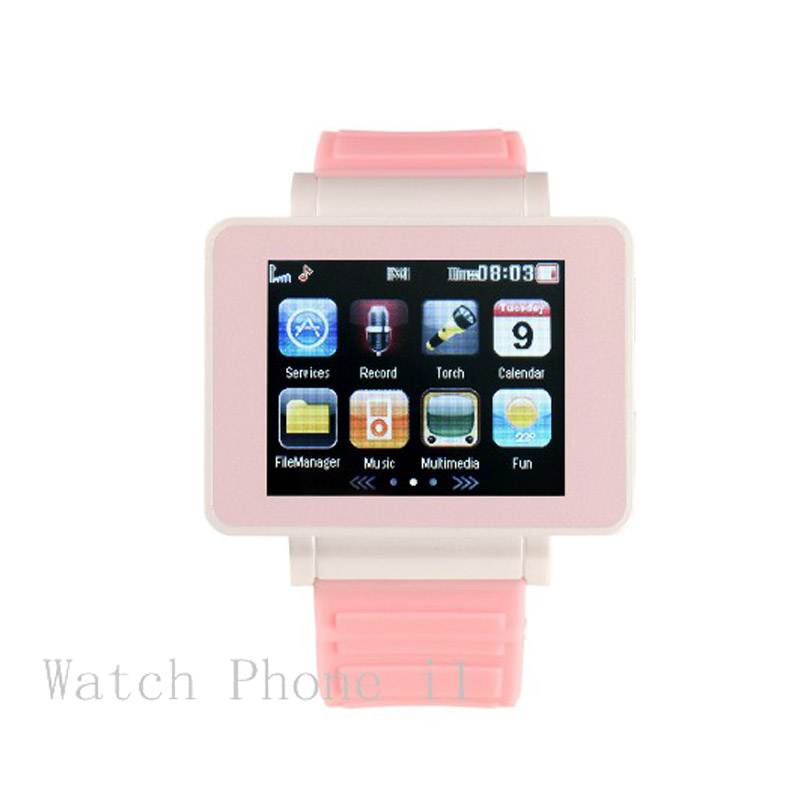 "For Children's Colorful Cute I Bluetooth Smart Watch Unblock Phone 1.8"" Touch Screen Support SIM Card for iPhone Samsung HUAWEI"