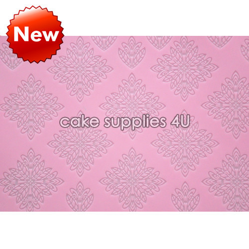 400*300mm totem lace mat,sugar lace silicone pad,totem shaping fondant mold, cake decoration tools,lace mat,free shipping(China (Mainland))