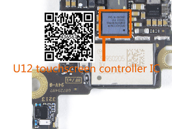 2pair/lot(4pcs) Original new white+black touch digitizer screen ic chip for i6 6G 6 6+ 6plus 343S0694+BCM5976