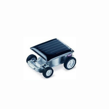 New Creative Smallest Mini Car, Green Energy Solar Car Toys Gift For Kids Toy Vehicles 2.4*2.1 cm(China (Mainland))
