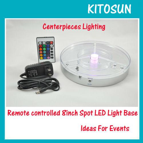 illuminator led light base 8 inch rechargeble lithium. Black Bedroom Furniture Sets. Home Design Ideas