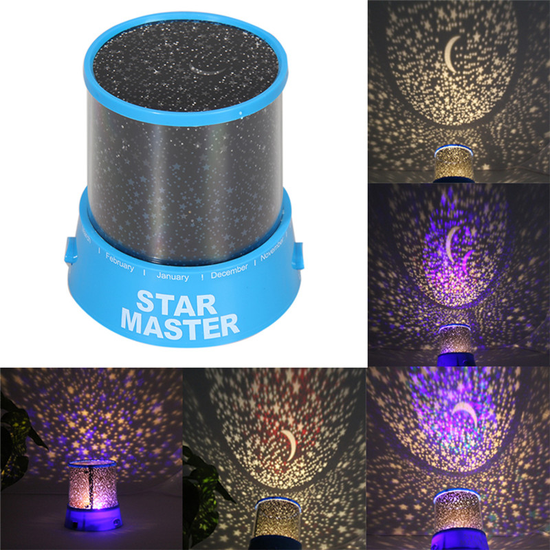 New Home Atmosphere Lights Romantic LED Starry Night Sky Projector Lamp Kids Gift Star light Cosmos Lamps free shipping(China (Mainland))