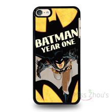 For iphone 4/4s 5/5s 5c SE 6/6s 7 plus ipod touch 4/5/6 back skins mobile cellphone cases cover BATMAN YEAR ONE
