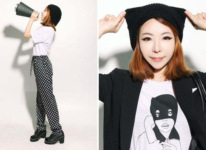 Бесплатная доставка новый корея мода зима женская вязаная шапка зимняя шапка серьги протектор берет