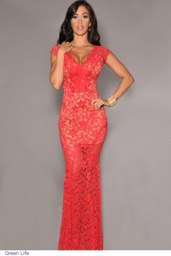 Red Dress For A Wedding Guest - Ocodea.com