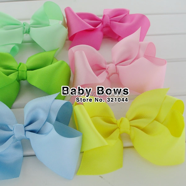 2014 NEW 4.5 Girls hair accessories hair bow WITHOUT CLIPS, hot selling bows for girl hairpins-1000pcs/lot WOMEN BOWSОдежда и ак�е��уары<br><br><br>Aliexpress