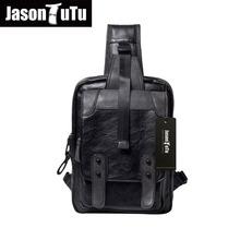 Buy JASON TUTU PU Leather Men Messenger Bag Waterproof Chest Pack Men Handbags Shoulder Bags 2017 Casual Male Bag Crossbody B308 for $25.39 in AliExpress store