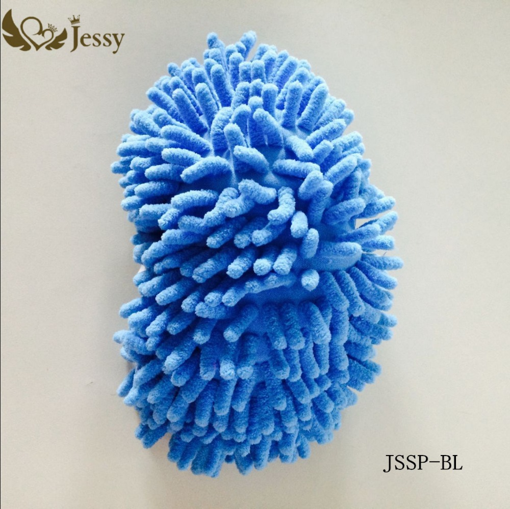 1Pcs Microfiber Dust Mop Slipper Mop House Floor Easy Quick Polishing Cleaning Foot Sock Shoe Lazy Housekeeper(China (Mainland))