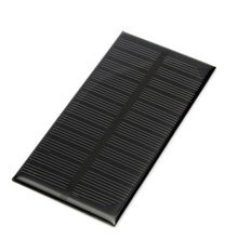 Newest Solar Panel Module for Light Battery Cell Phone Charger Portable 6V 1W 200mA DIY 125x63x3mm Promotion Price(China (Mainland))