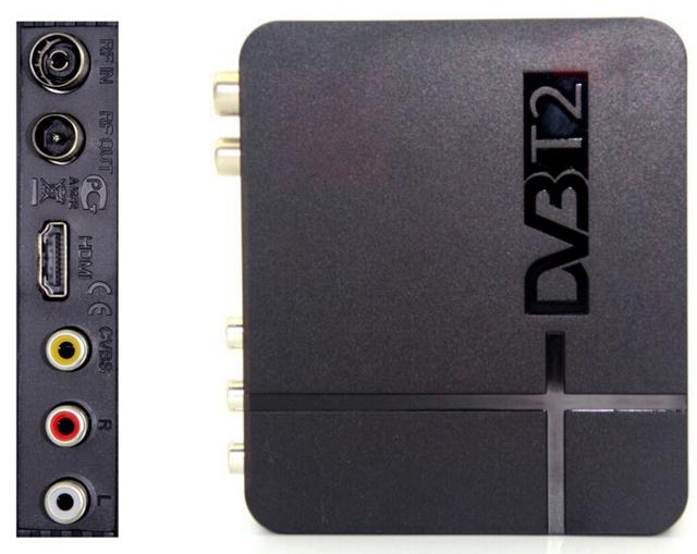 Free Shipping Factory price1pc MINI HD DVB-T2 K2 STB 4K DVB-T2 K2 WiFi Satellite Receiver Digital TV HDTV 51119