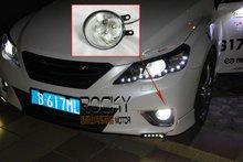Guranteed 100% véritable haute puissance Led Toyota Reiz brouillard lumière Led antibrouillard Daytime Running Light DRL(China (Mainland))