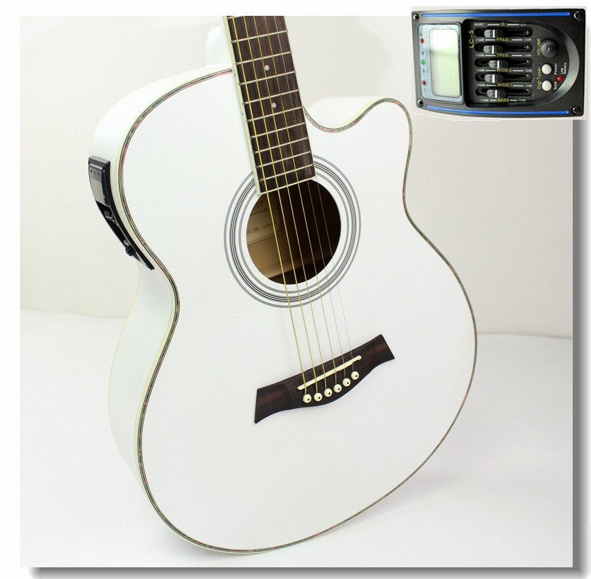 40-30 NEW guitars 40 inch 5 EQ Electric Acoustic Guitar Rosewood Fingerboard guitarra with guitar pickup tuner strings<br><br>Aliexpress
