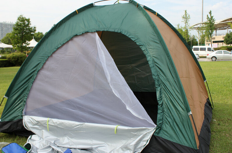 2015 2 people outdoor camping tents carpas camping for tourism large aluminum tent pole free shipping(China (Mainland))