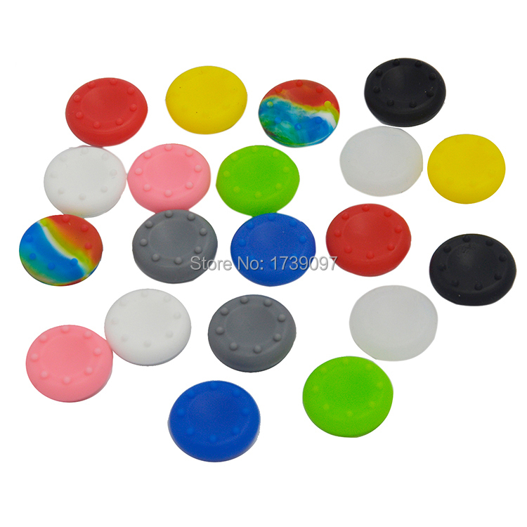 20 X Silicone Analog Controller Thumb Stick Grips Cap Cover For PS Son
