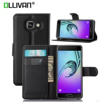 Buy For Samsung Galaxy A3 Case 2016 Wallet PU leather Bags Card SLot Shockproof Stand Fundas Phone Cover For Samsung A3 2016 Cases for $3.99 in AliExpress store