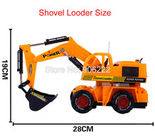 Newest Remote Control R/C Wheeled Loader Tractor Kids Motorized Excavator Toy Gifts(China (Mainland))