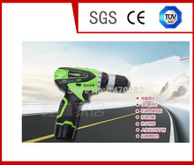 12V two-speed Rechargeable Lithium electric drill tools cordless screwdriver Waterproof LED Light Hand battery Charger