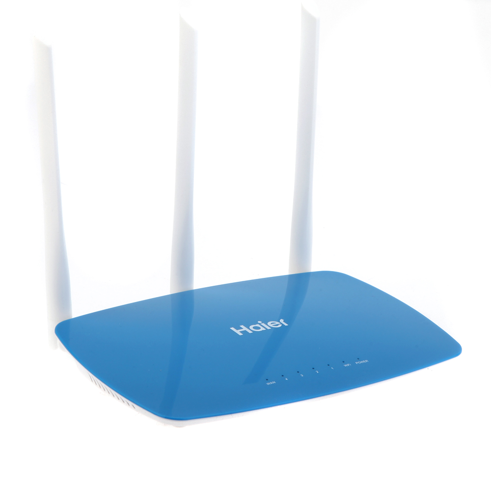 Haier D7 300Mbps 802.11g/b/n WiFi Router Wireless WLAN Wi-Fi Repeater Home Networking Broadband 4 Ports Wall Through 3 Antennas(China (Mainland))