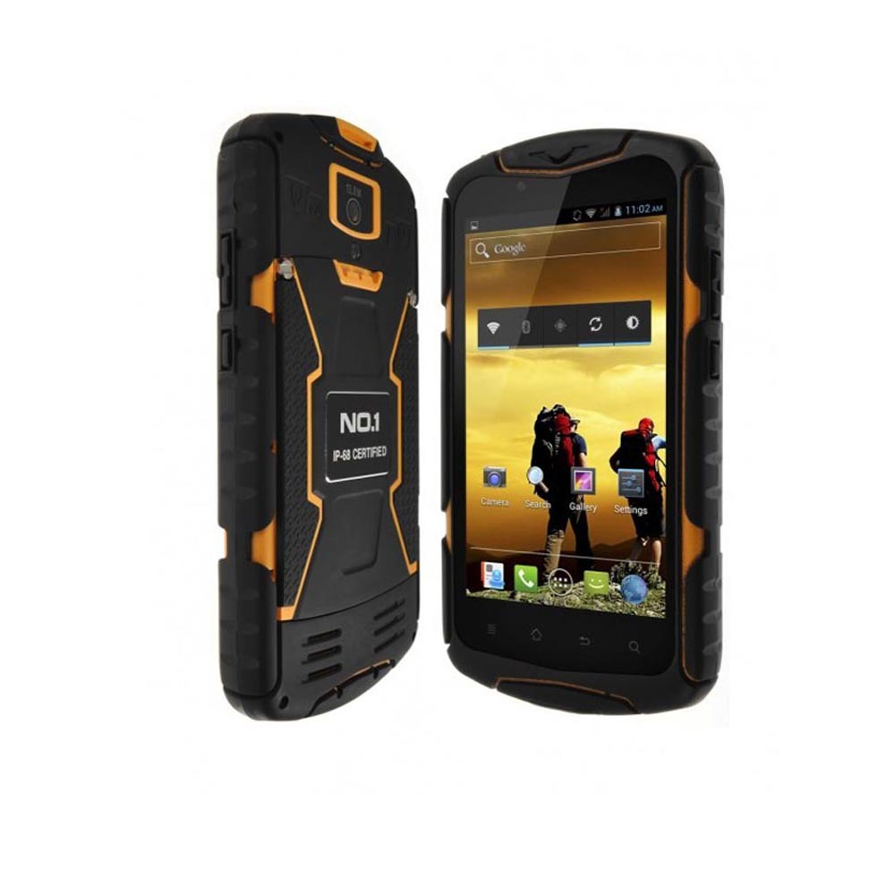 NO.1 X1 X-Men IP6 Rugged Waterproof 8Shockproof Phone 5.0'' IPS Android 4.4 Quad Core Mobile Phone 1GB Ram 8GB Rom 13MP GPS