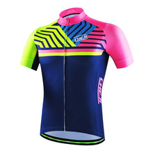 Buy Colorful Bike Jersey Cycling Clothing Ropa Ciclismo Short Sleeve Mens Bicycle Sportswear Maillot Sports Cycling Jersey Shirt for $18.89 in AliExpress store