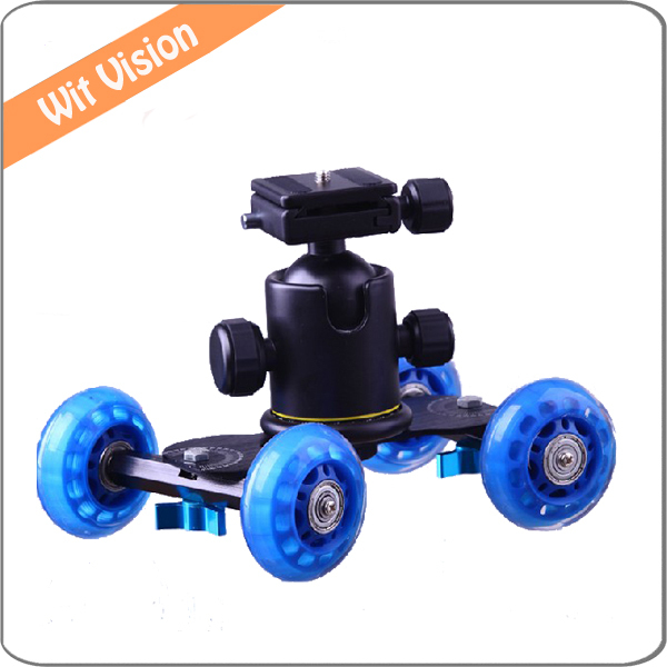 Mini Camera Rail Car Table Video Slider Track Desktop Dolly Car For Canon 60D 650D 550D<br><br>Aliexpress