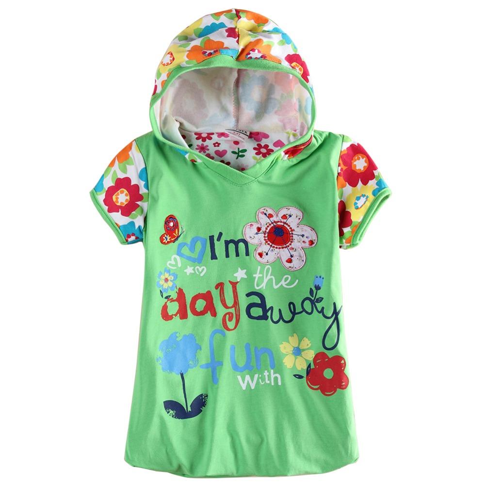 wholsale baby clothes Nova Kids green retail girls dresses summer hoodies dress kids frock brand