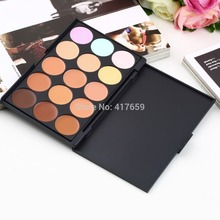New 2015 Hot Sale Special Professional 15 COLOR Concealer Facial Care Camouflage Makeup Palette Drop Shipping Wholesale(China (Mainland))