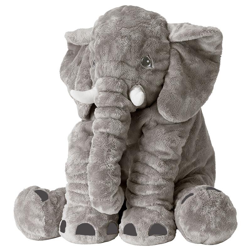 AIBOULLY new decorative minion stuffed animals gray giant plush elephant pillow toys for baby pokemon kid toys girl friend gift(China (Mainland))