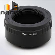 Buy Pixco Pro Lens Mount Adapter Suit M42 Lens Sony E Mount Camera NEX A5100 A6000 A5000 A3000 5T 3N 6 5R for $14.58 in AliExpress store