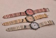 2014 nuevo Fasion japonés miyota 2035 movimiento relojes de pulsera de cuero genuino de bambú relojes de madera con caja de regalo