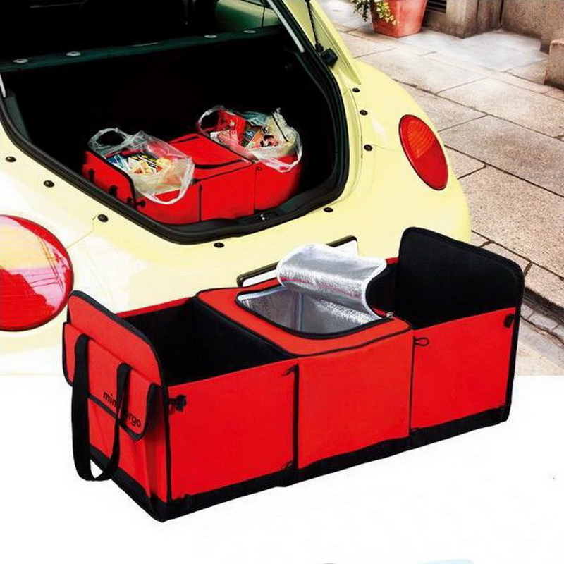 Car Trunk storage bag Foldable Multi-Purpose Space Master Organizer with Cooling Pack for Car(China (Mainland))