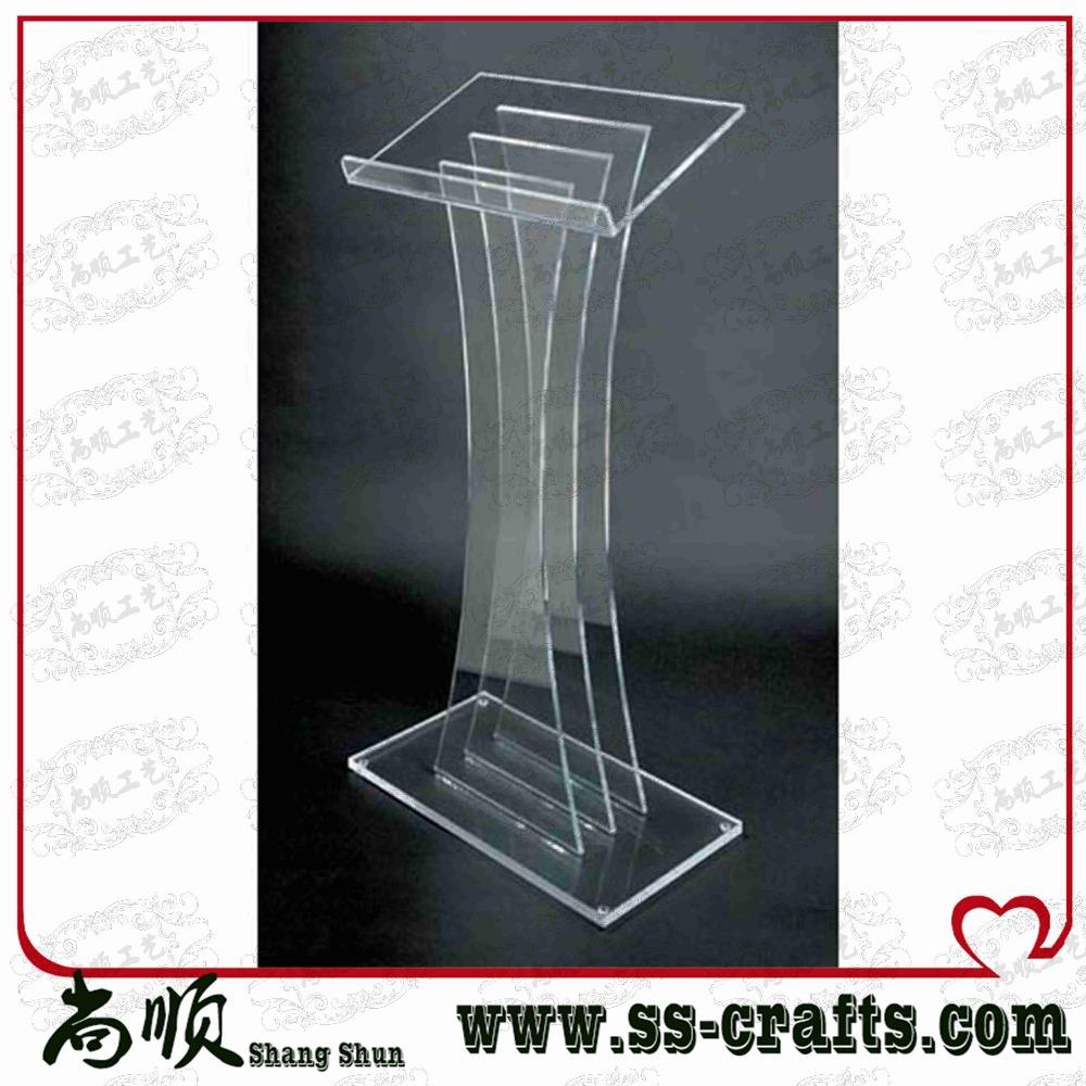 Large Transparent Plexiglass Prodium For Ceremony Lectern for Ceremony<br><br>Aliexpress